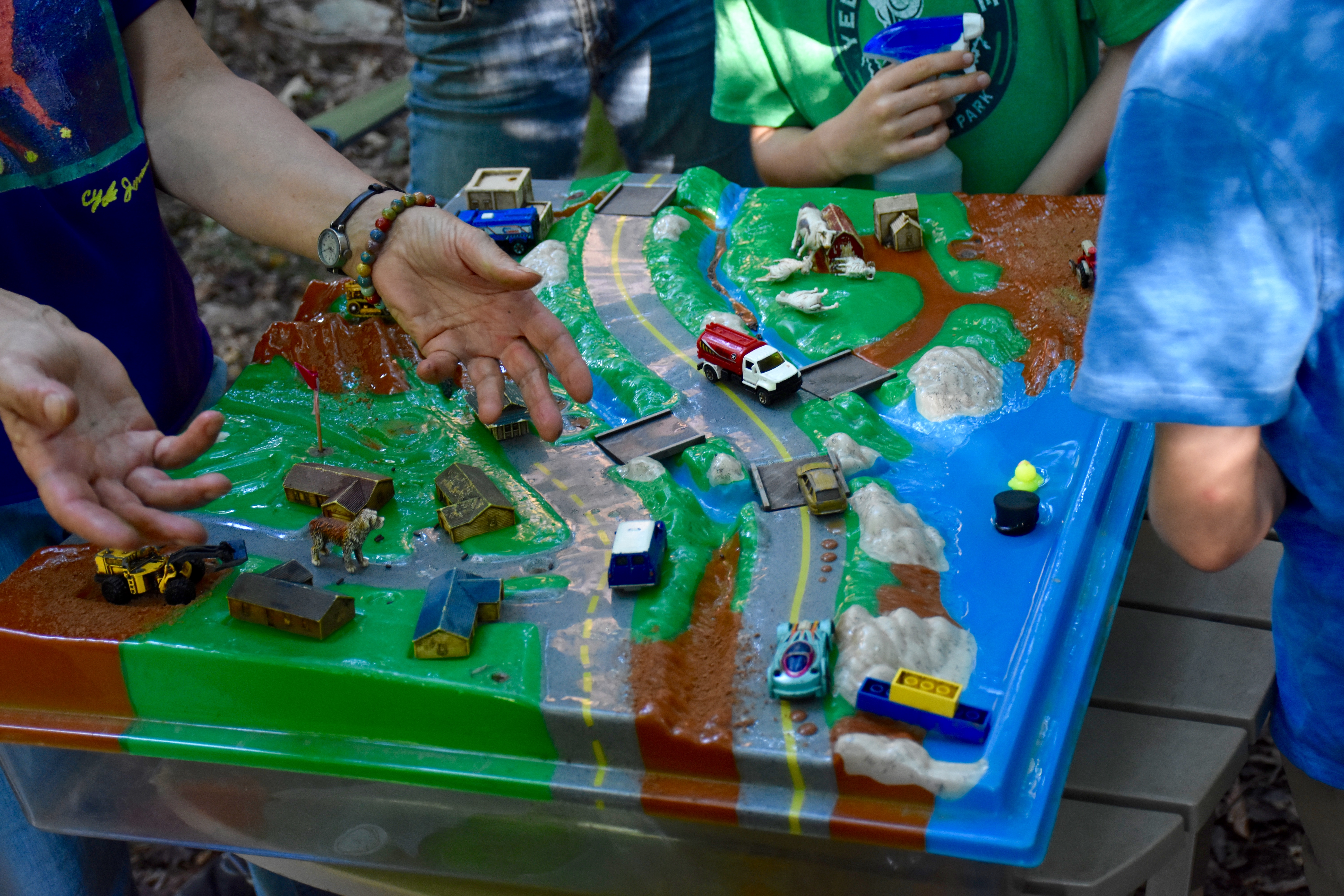Students Learn How Our Actions Affect Drinking Water With Our Tabletop  Ecosystem Model, The Enviroscape