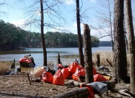 CJL shoreline trash-small